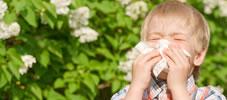 花粉症のスキンケア